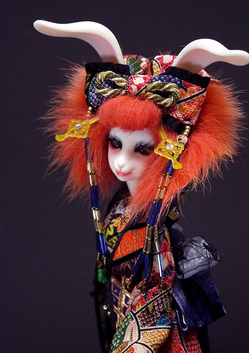 usagi, kimono, doll, rabbit, figure,kimono03