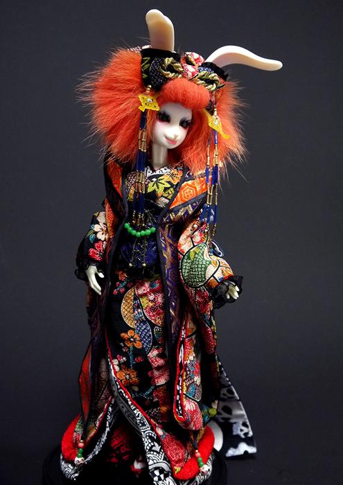 usagi, kimono, doll, rabbit, figure,kimono04