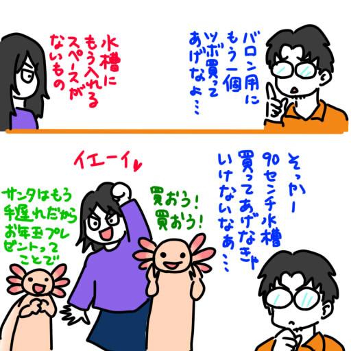 20121224タナボタ狙いの嫁とウパ