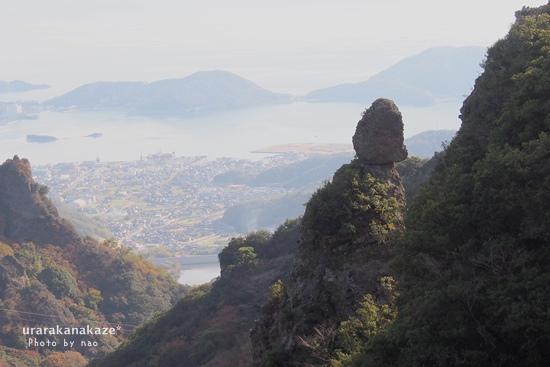 烏帽子岩(えぼしいわ)