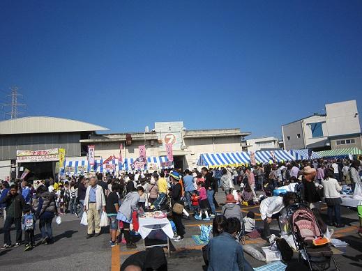 市場祭り~いい天気!