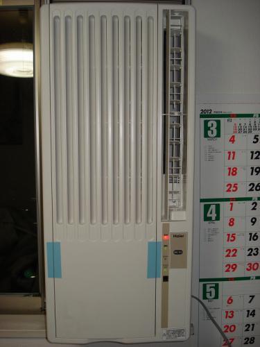 120614ハイアール 窓用エアコンJA-18K-W-9