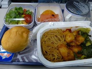 出発-大韓航空機内2