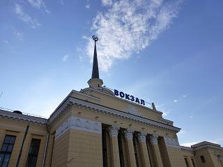 ペトロザボーツク駅2