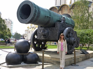 クレムリン内部6-大砲の皇帝