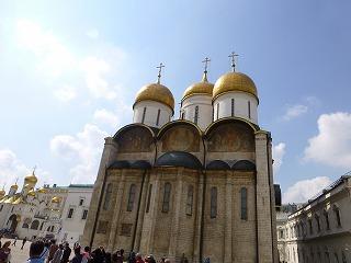 クレムリン内部9-ウスペンスキー大聖堂