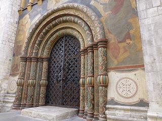 クレムリン内部12-ウスペンスキー大聖堂