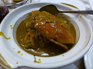 船屋-食事2(カレー蟹)