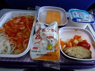 機内食-復路1