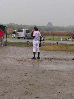 雨で野球が中止・・・