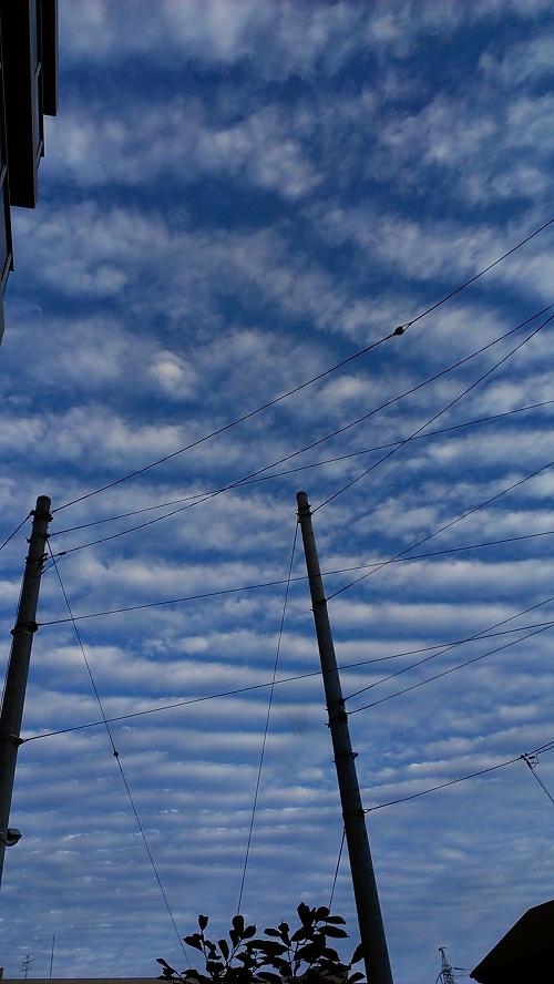 10月13日地震雲2