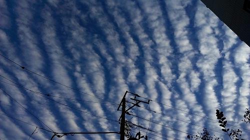 10月13日地震雲1