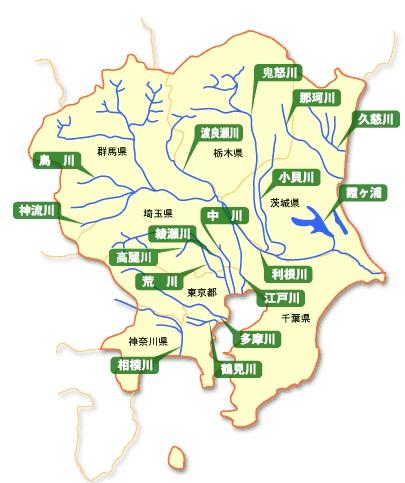 関東河川図
