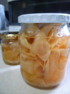 新生姜の甘酢漬け2