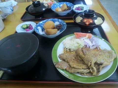 生姜焼き定食30