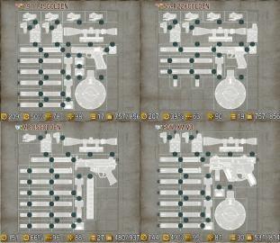 チョイポリスゴールド武器カスタマイズ例