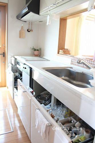 キッチン収納換気2