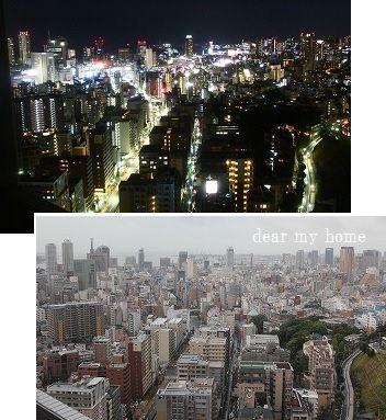 神戸夜景&朝