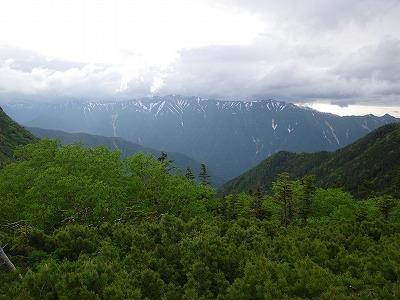 裏銀座の山々