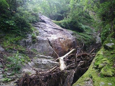 ツルツルの滝