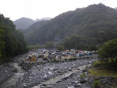 西丹沢キャンプ場