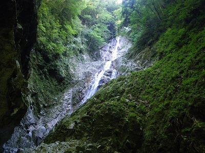 モチコシの大滝