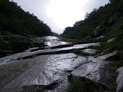 テカテカの滝