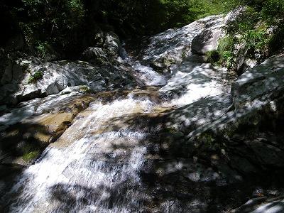 奥の魚留滝
