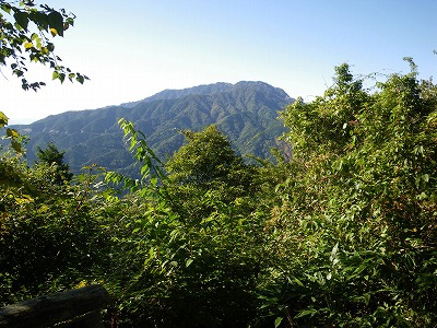 大平峠から南木曽