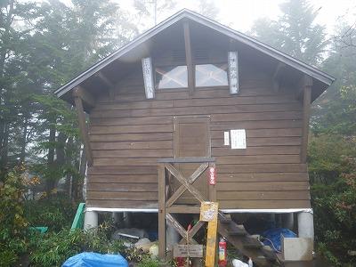 田代山避難小屋