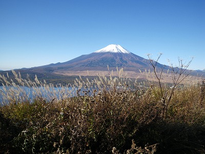 大平山からの富士山