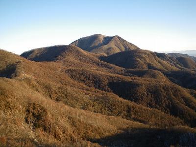 獅子岩からの浅間隠山