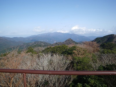 長九郎からの天城山