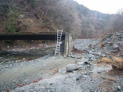 熊木沢出合いの橋