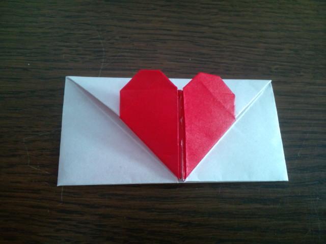 ハート 折り紙 ハート 折り紙 手紙 : wanwan312.blog24.fc2.com