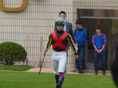 パドック:リスポリ騎手