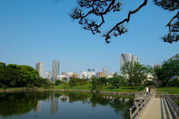 浜離宮、汐入の池 / Hamarikyuu-Pond of Shioiri