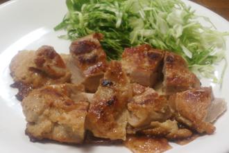 鶏肉味噌ヨーグルト漬ロースト