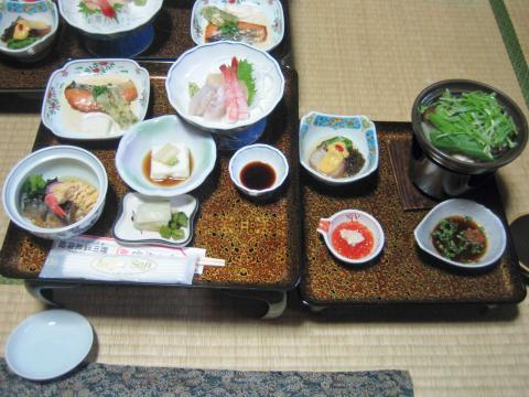 鯉川温泉・夕食