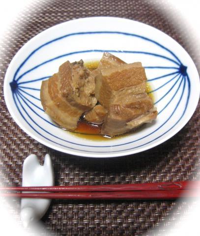 豚の角煮1117
