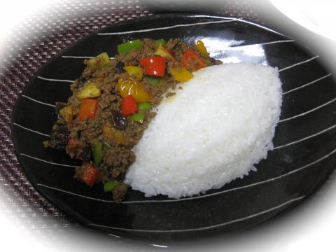 干し野菜ドライカレー1121