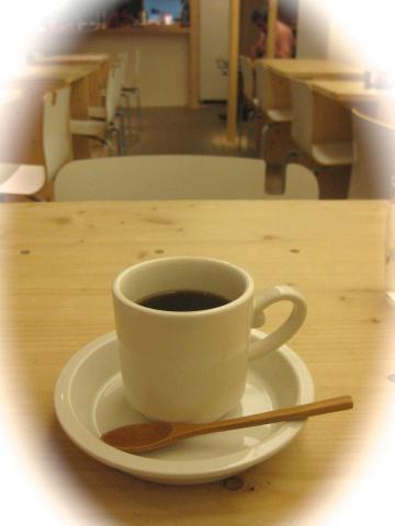 森の間カフェコーヒー1221