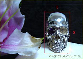 黄金比のスカルリング   CHESED/Silver925