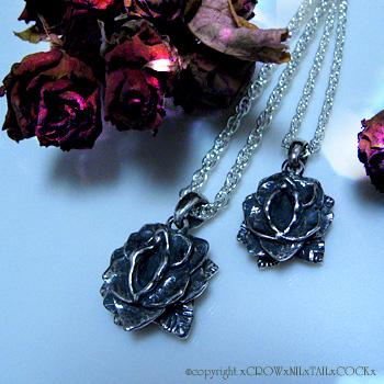 フルオーダー Rose & Pussy Necklace