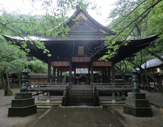 金ヶ崎神社お社
