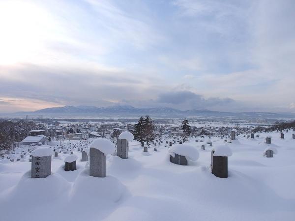 お墓から見える景色