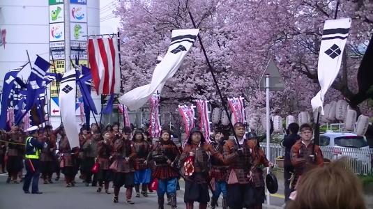 信玄公祭り 韮崎 外観