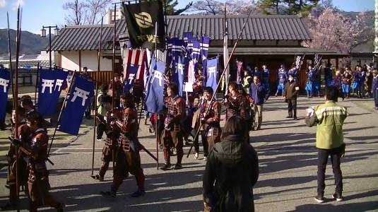 信玄公祭り 甲州軍団 舞鶴城 甘利隊
