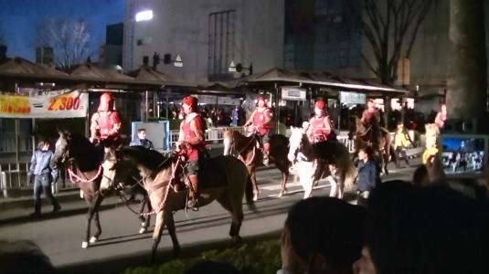 信玄公祭り 甲州軍団 出陣 騎馬隊