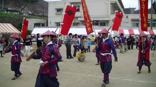 武田勝頼公祭り 武者